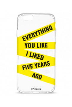 Everything You Like I Liked Five Years Ago (shine)